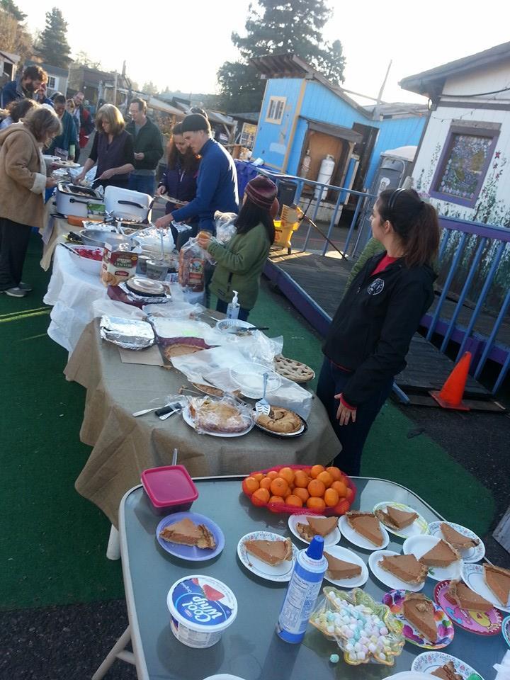 Thanksgiving at Dignity Village