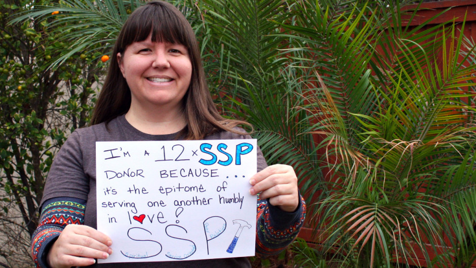 Why I'm a 12xSSP Donor