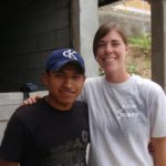 Allison and a community member in Guatemala, 2012.