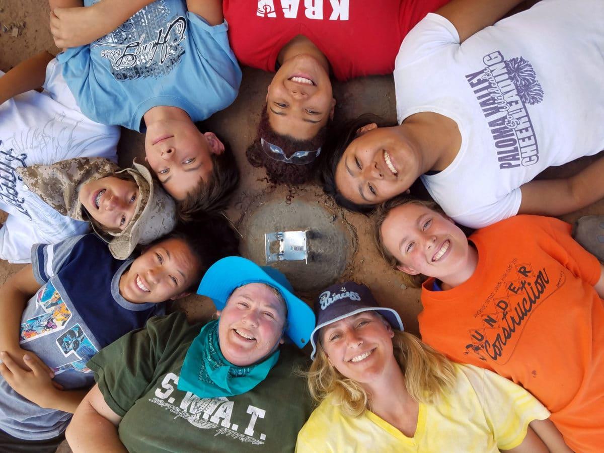 Youth Service Project in Tsaile, Arizona