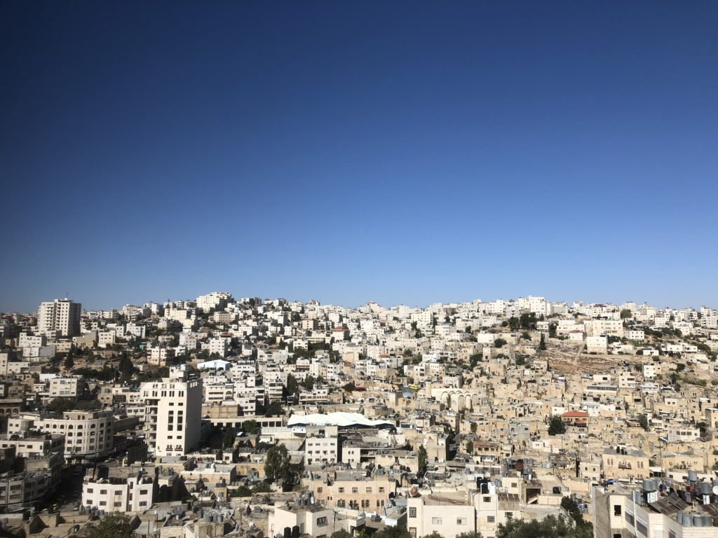 Hebron, the largest city in the occupied West Bank.